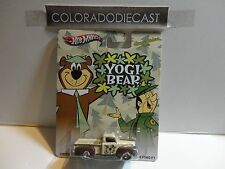 Hot Wheels Hannah-Barbera Yogi Bear '49 Ford F-1 Pickup w/Real Riders