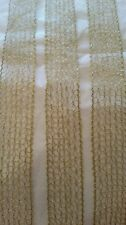 Gold metallic mesh lace braid for crafting and costume decoration