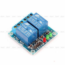 DC 5V 2 Channel Relay Module W/LED Indicator Light For ARM PIC AVR DSP Arduino