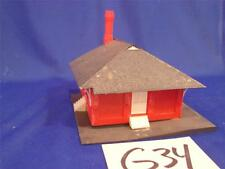 G34 VINTAGE HO SCALE MODEL PLASTIC TRAIN WALL HOUSE BUSINESS BUILDING FACTORY