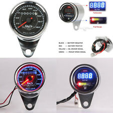 LED Speedometer Tachometer Fuel Gauge Ft Honda VT Shadow Spirit VLX 600 750 1100