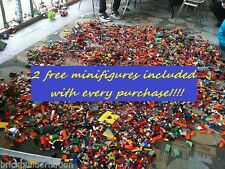 ☀️1-1000 POUNDS BRAND NEW LB LEGO LEGOS PIECES FROM HUGE BULK LOT + 2 MINIFIGURE