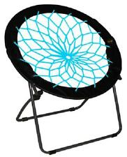 Zenithen Ltd IC544S-TV04 Black & Teal Bunjo Bungee Folding Chair! FUN!!