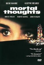 Mortal Thoughts (DVD, 1998, Closed Caption French and Spanish Subtitles)