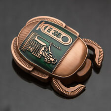 *SOLD OUT* Copper/Green Egyptian Scarab Geocoin *2016* - Geocaching - 50 MADE