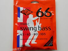 Rotosound RS66LD Swing Bass Guitar Set Stainless Steel Roundwound 45-105 Gauge