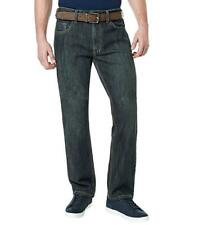 NEW MENS DAVID BITTON BUFFALO DRIVEN-X BASIC STRAIGHT LEG JEANS STRETCH 36X32