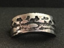 24K Pure Silver Coin Ring | AG 47 Argentum Machine | The Alchemist Ring