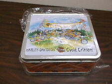 Harley-davidson cycle critter lunch box 97818-02Z