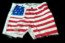 Celebrity Pink Jeans White Red Blue 4th Of July Flag Patriotic Stars & Stripes 7