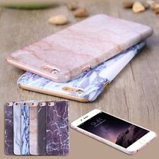 Printed Marble Stone Grain Ultra Thin Slim Hard Back Case Cover For iPhone 6s