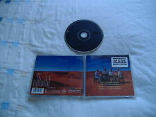 MUSE BLACK HOLES & REVELATIONS GOLD STAMPED AMERICAN PROMO CD EXCELLENT