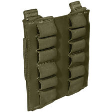 5.11 12 RD SHOTGUN SHELL POUCH HUNTING AIRSOFT AMMO MOLLE HOLDER TACTICAL OLIVE