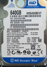 WD6400BEVT-22A0RT0  640gb Sata Laptop Drive