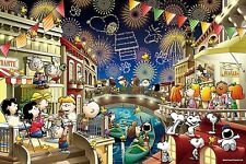 Epoch Jigsaw Puzzle 12-049s Peanuts Snoopy Fireworks (1000 Pieces)