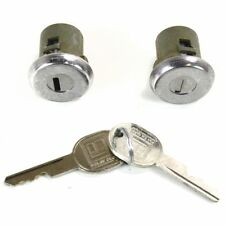 Door Lock Cylinders Set of 2 New Front Olds Chevy NINETY EIGHT S15 Pickup Pair