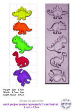 DINOSAUR BABIES Craft Sugarcraft Soap Fimo Mould