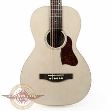 Brand New Art & Lutherie Roadhouse Parlor Acoustic Electric Guitar Faded Cream