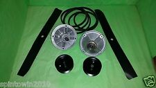 Deck Rebuild Kit BLADES PULLEYS SPINDLES BELT Toro TimeCutter Z4200 Z4235 Z4220