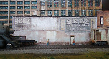 #337 O scale background building flat   SELZ   *FREE SHIPPING*