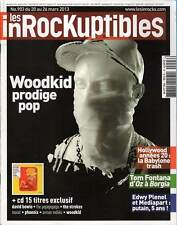 "LES INROCKUPTIBLES #903 ""Woodkid,T.Fontana,K.Anger,Timberlake,Zé Luis""(REVUE+CD)"