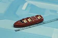 MICRO MACHINES INDIANA JONES MILITARY WOODEN MOTOR BOAT