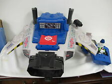 RESCUE HERO'S COMMAND CENTER FISHER PRICE HYPER JET  KEYTRON FIGURE ROBOT