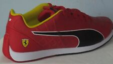 PUMA EVO SPEED 1.4 SCUDERIA FERRARI NM ROSSO CORSA/BLACK MEN SHOES SIZE 8.5