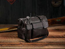 Lightspeed Adventure Flight Bag Collection - The Gann: Leather Pilot Flight Bag
