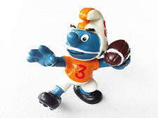 2.0170 20170 Puffo Smurf Quaterback Football Americano Rugby 2A - Schleich 1983