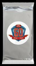 2015 TOPPS FOOTBALL 60th ANNIVERSARY RETIRED AUTOGRAPH ROOKIE CARD PACK
