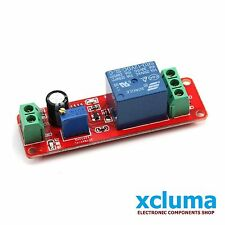 NE555 DC 12V DIGITAL DELAY TIMER RELAY  MODULE ADJUSTABLE 0 TO 10 SECONDS BE0058