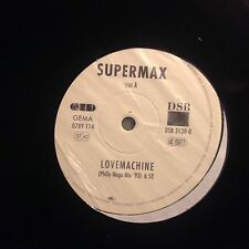 SUPERMAX • Lovemachine • Vinile 12 Mix • DSB 3130-0
