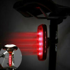 Bicycle Bright 5 LED Red Rear Tail Light Cycling Bike 8 Flash Modes Outdoor Lamp