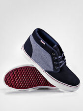 NEW VANS SHOES CHUKKA 79 PRO CLASSICS 7 MENS NAVY DARK RED OXFORD SUEDE NIB