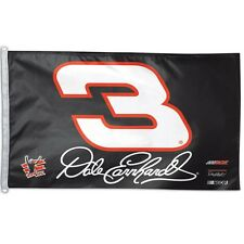 Dale Earnhardt Sr. NASCAR 3ft x 5ft 2 Sided Banner Flag Senior Wincraft 631718