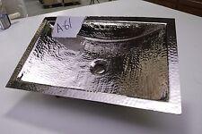 """19 5/8"""" x 12 3/4""""  Hammered Nickel Undermount Bathroom Sink  *** NEW ***  # A-61"""