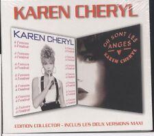 KAREN CHERYL - Où Sont Les Anges - A L'Envers A L'Endroit - CD - New & Sealed