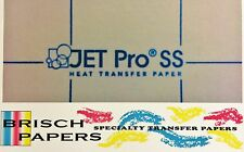 """INKJET TRANSFER FOR WHITE FABRIC: IRON-ON """"JET PRO SOFT STRETCH"""" (A4 SIZE) 50CT"""