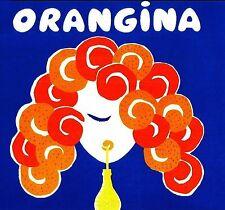 orangina villemot vintage art A0 SIZE PRINT -poster  FOR YOUR FRAME