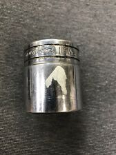 "Snap-On TW421, 1-5/16"", 1/2"" Drive, 6 Point, Shallow Socket (used) Free Shipping"