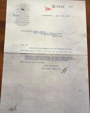 TITANIC Letter sent from Liverpool and dated April 16th White Star Line   (27)