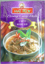 3 Packets Mae Ploy Panang Curry Paste 50g. MSG Free
