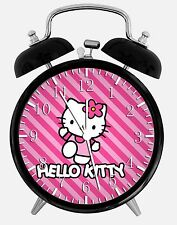 "Hello Kitty Alarm Desk Clock 3.75"" Room Decor W23 Nice for Gifts Wake Up"