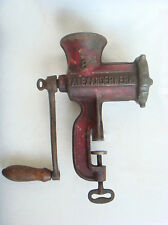 1900's Antique German Kitchen Meat Grinder Alexanderwerk  # 8   Marked