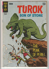Gold Key Four Color #63 Oct. 1968 TUROK Son of Stone - VG