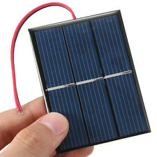 Mini 0.65W 1.5V 0-300mA Solar Panel Module Solar System Epoxy Cell Charger DIY
