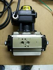 RADIUS PNEUMATIC ACTUATOR  AD-008 & LIMIT SWITCH BOX ES-900