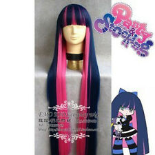 ANIME Angel STOCKING history flowers gold blue&rose-bengal cosplay wig+WIGS CAP