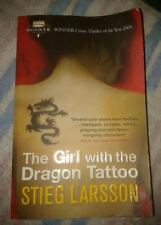 GIRL WITH THE DRAGON TATTOO BOOK PAPERBACK BESTSELLER Stieg Larsson